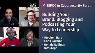 #BuildYourBrand: Blogging & Podcasting Your Way to Leadership (Panel)