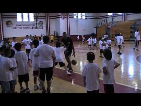 George Hill Skills Clinic; Laredo, TX; Video 5