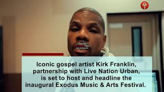Kirk Franklin, Sammie Okposo on the news this week.