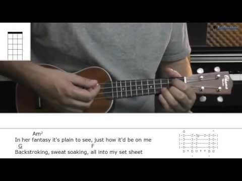 How To Play Ayo Technology With Milow (Ukulele Lesson)
