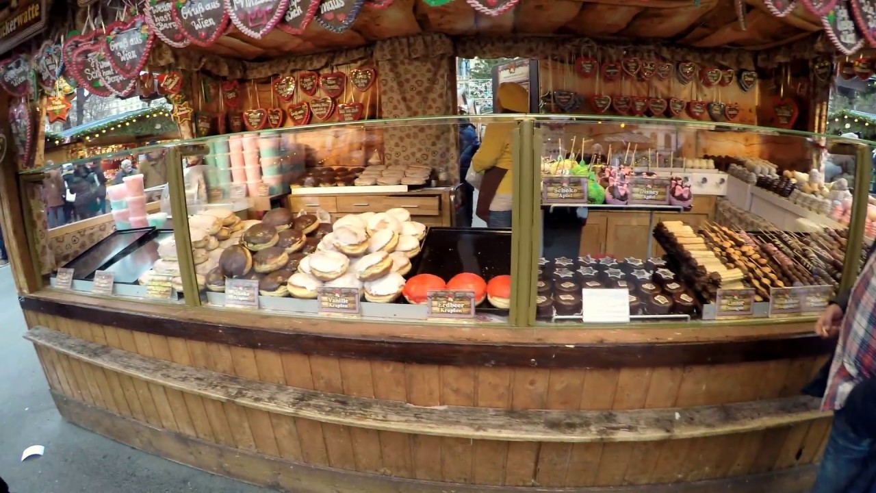 vienna christmas markets 2016 2017 vienna city hall xmas market youtube. Black Bedroom Furniture Sets. Home Design Ideas