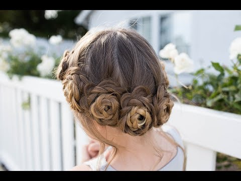 flower-crown-braid-|-updo-|-cute-girls-hairstyles