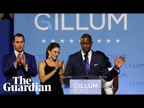Andrew Gillum concedes Florida governor race to Ron DeSantis on Tuesday night