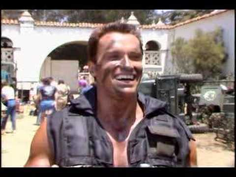 Commando Arnold on Vernon Wells(Bennett)