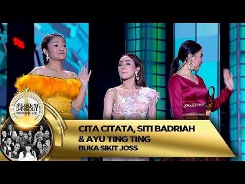 JOGET SEMUA!! Cita Citata, Sibad & Ayu Ting Ting [BUKA SITIK JOSS] - ADI 2018 (16/11)