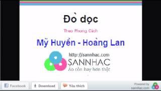 Karaoke (beat) Đò dọc - Mỹ Huyền - Hoàng Lan