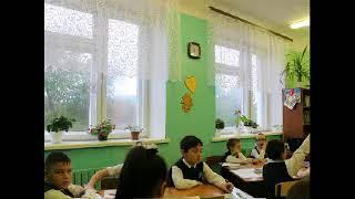 Видеоурок по русскому языку в 3 классе