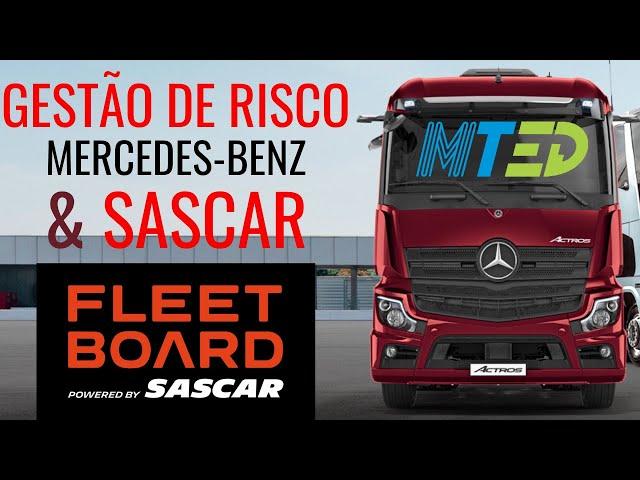 MERCEDES-BENZ E SASCAR OFERECEM GESTÃO DE RISCO – MTED