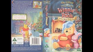 Video Winnie the Pooh - A Very Merry Pooh Year (2002, UK VHS) download MP3, 3GP, MP4, WEBM, AVI, FLV Juni 2017
