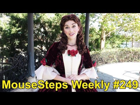 MouseSteps Weekly #249 Epcot Festival of the Holidays: Art Smith's Homecomin'; Disney Ice Sculptures