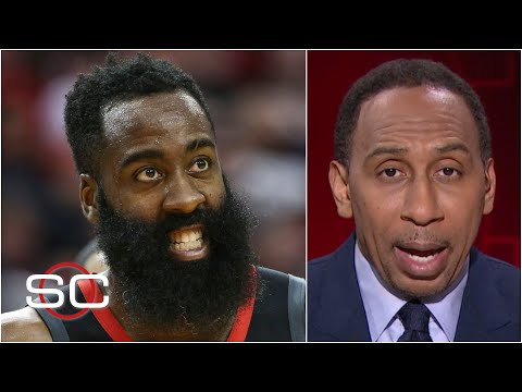 Stephen A. reacts to James Harden being traded to the Brooklyn Nets | SportsCenter - Видео онлайн