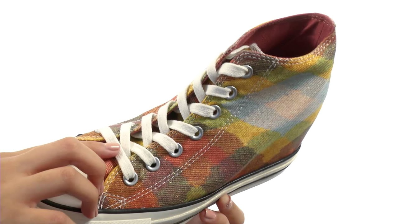 Converse Chuck Taylor® All Star® Missoni Lux Hi SKU 8587408 - YouTube 5843fb7ff