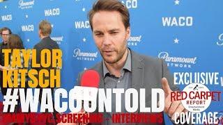Taylor Kitsch interviewed at Paramount Network