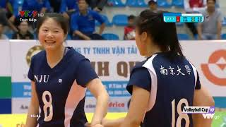 Ngân hàng công thương vs Nam Kinh Trung Quốc | Bóng chuyền nữ Cup VTV Bình Điền 2019