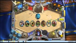 Hearthstone: Heroes of Warcraft Beta gameplay/commentary