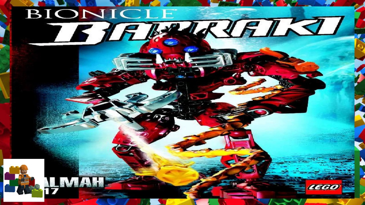 Lego Instructions Bionicle 8917 Kalmah Youtube