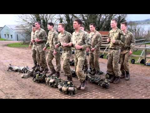 Regain Tank at the Commando Training Centre Royal Marines
