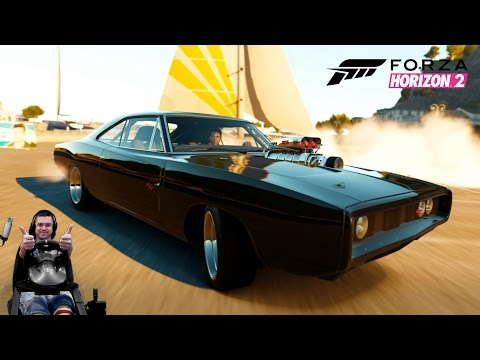 Легендарный маслкар Доминика Торетто Dodge Charger R/T Fast & Furious Edition - Forza Horizon 2
