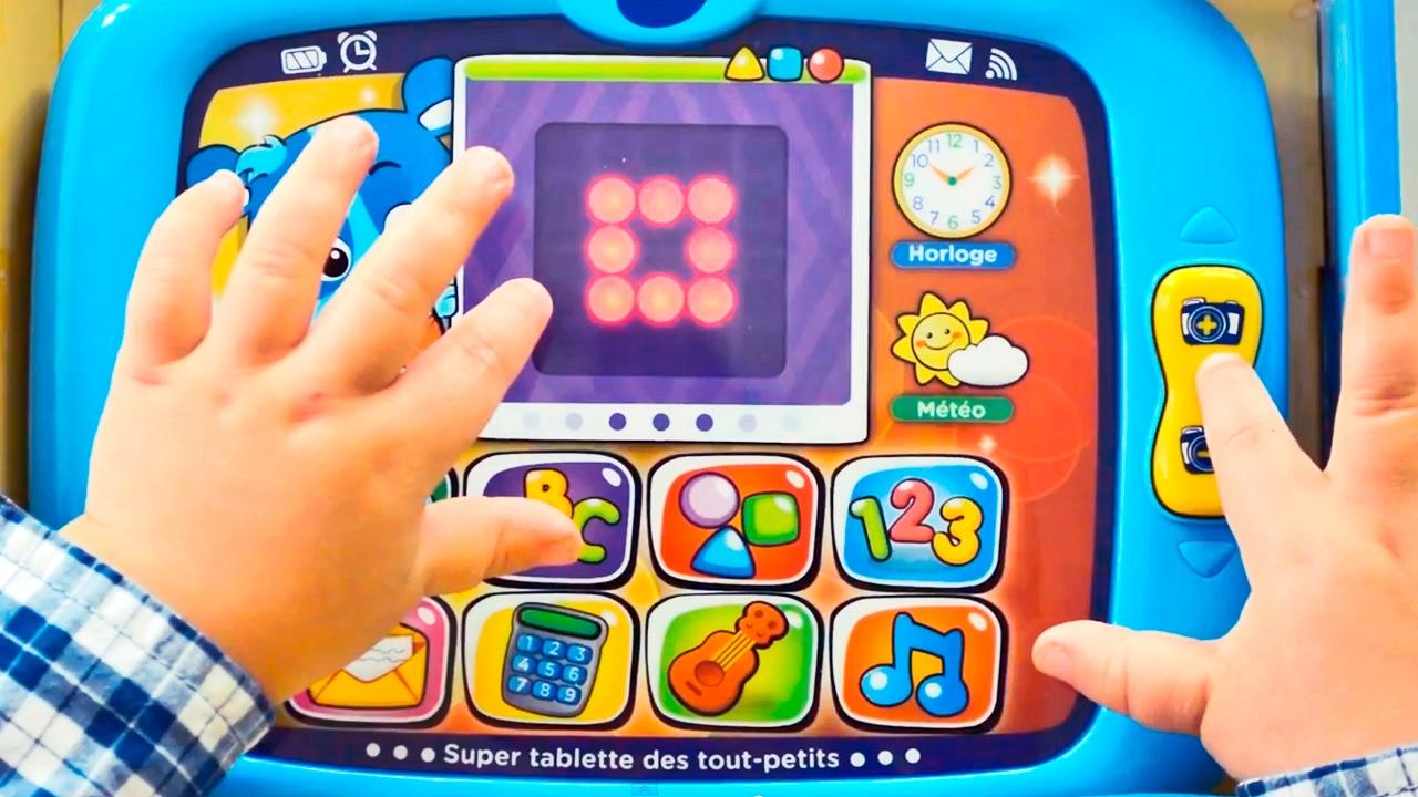 15 Vtech Super Tablette Des Touts Petits Youtube