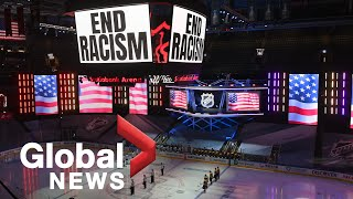 Jacob Blake protests: Professional athletes step up to demand racial justice Professional sports leagues across North America are postponing games, as athletes demand change and continue to protest racism in the wake of the Jacob ..., From YouTubeVideos
