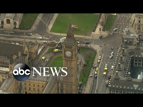 Thumbnail: Attack near UK Houses of Parliament being treated as terrorism: Police
