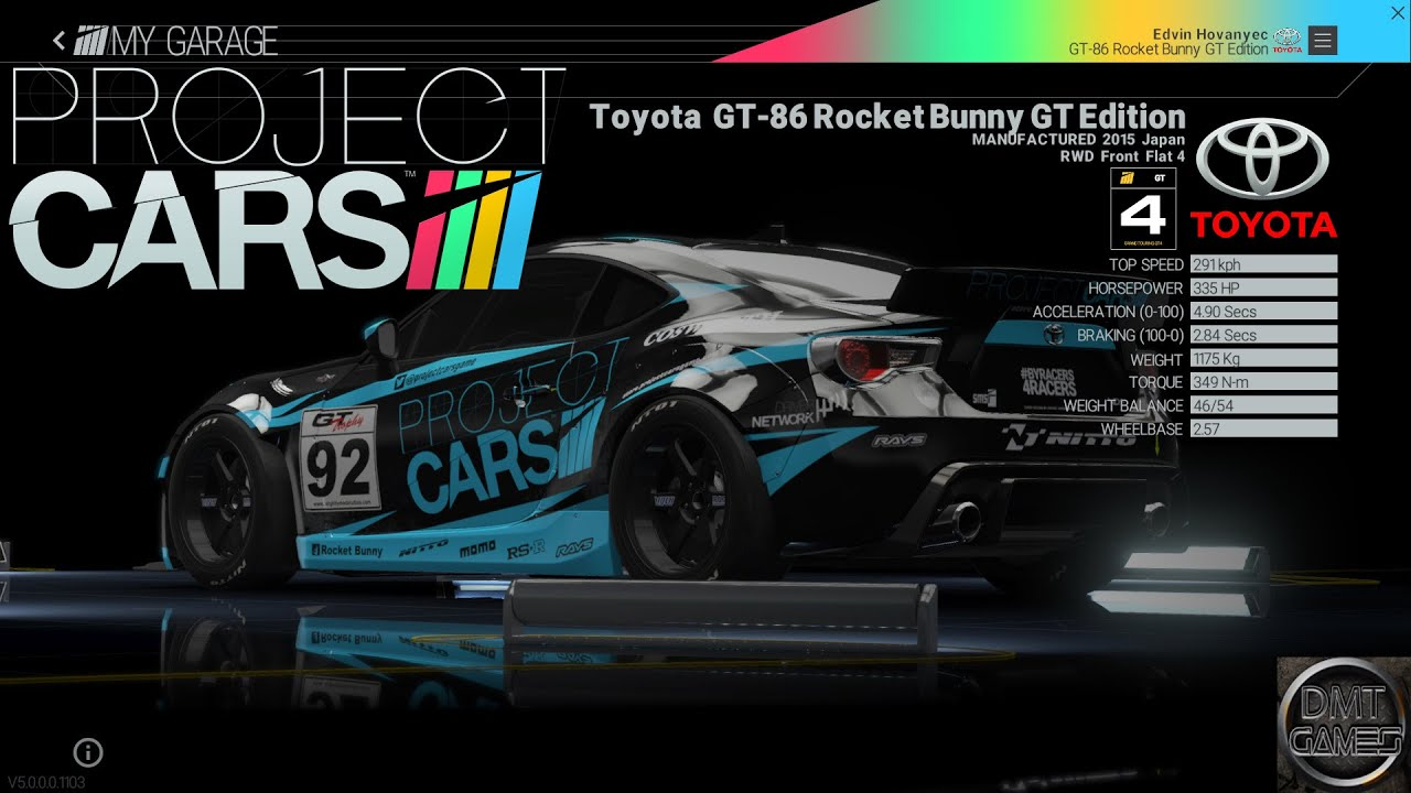 project cars toyota gt 86 rocket bunny gt edition new dlc car youtube. Black Bedroom Furniture Sets. Home Design Ideas