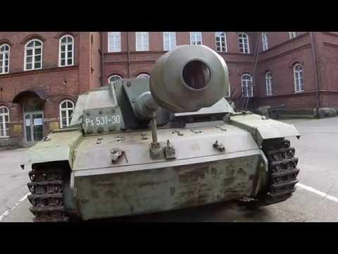 Helsinki War Museum Yard - Sotamuseo