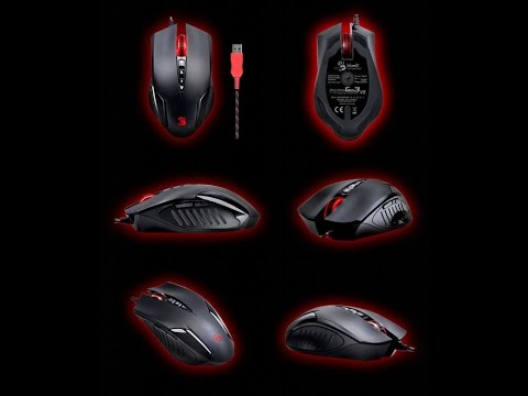 обзор игровой мышки a4tech bloody v5 / review gaming mouse a4tech bloody v5