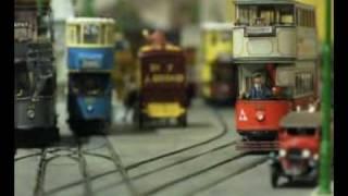 LT Museum Acton Depot - Model Trams