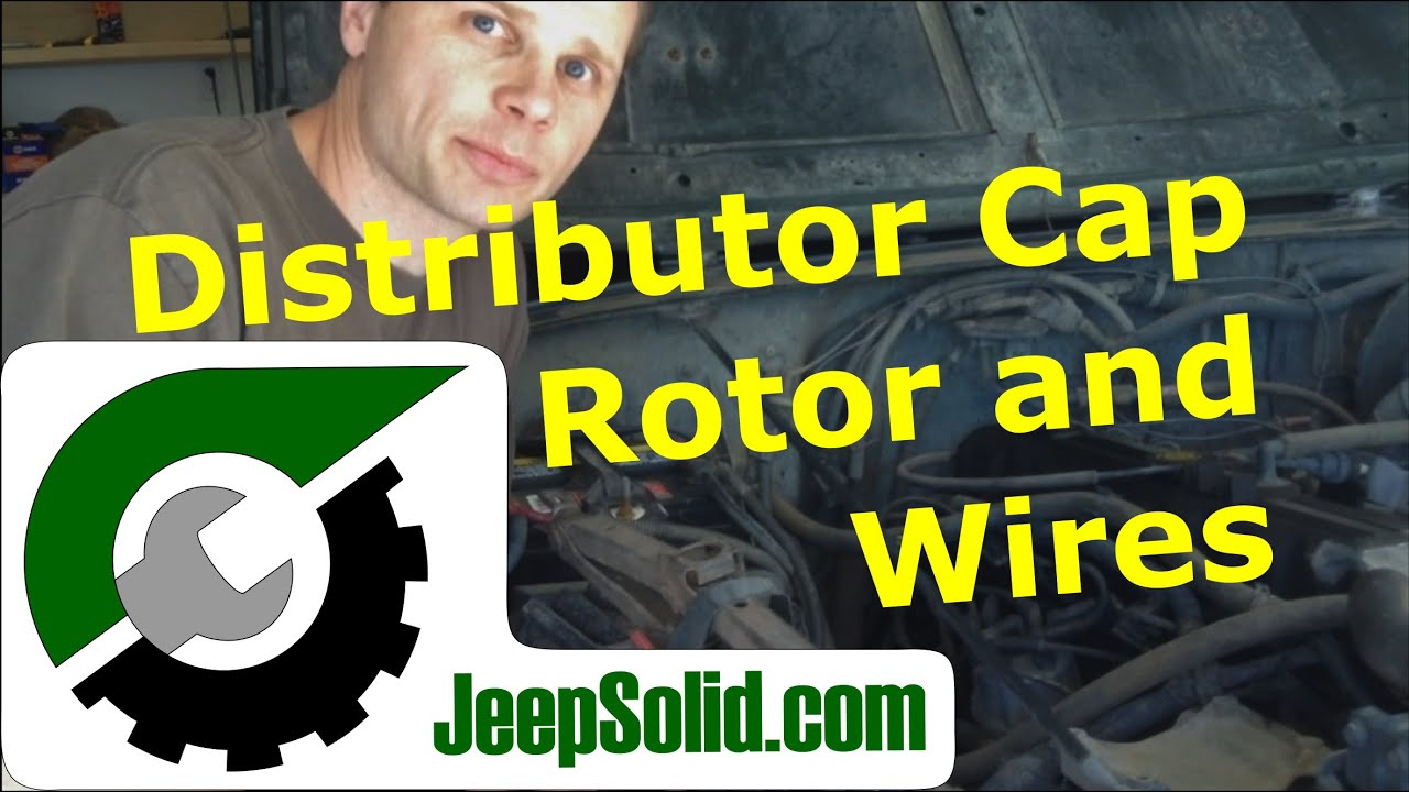 jeep distributor cap distributor cap rotor and spark plug wires [ 1280 x 720 Pixel ]