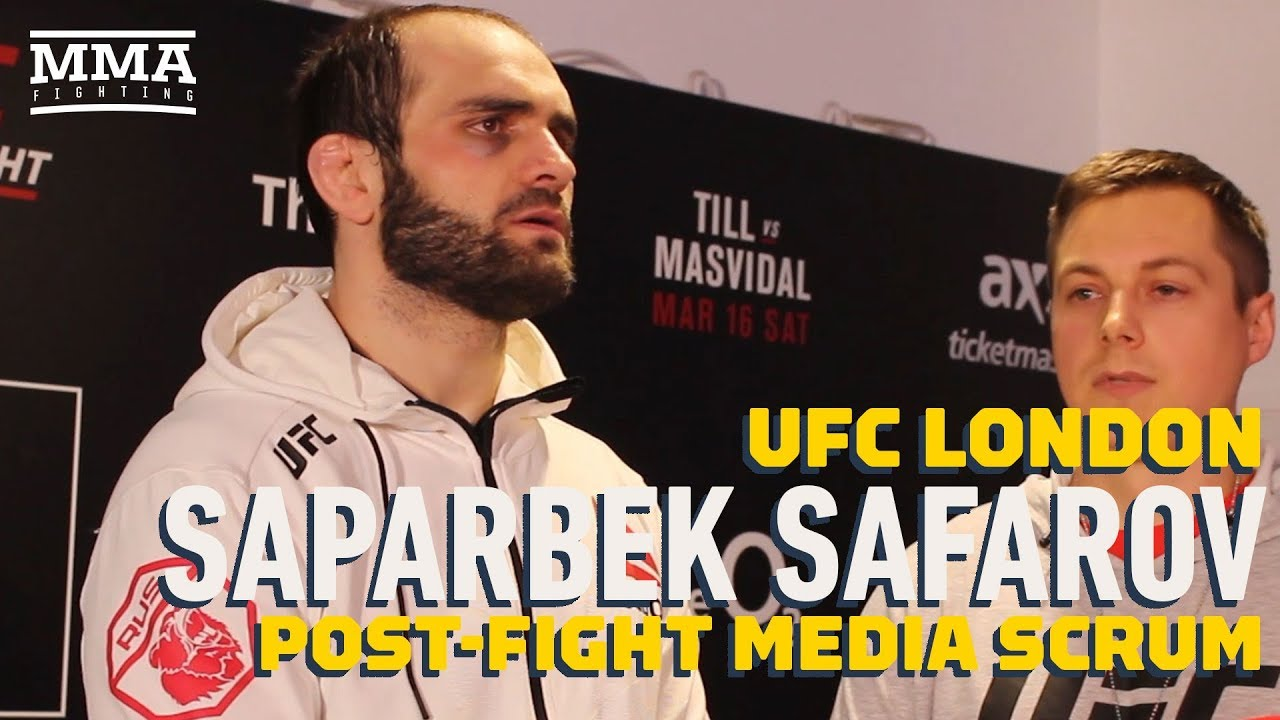 Saparbeg Safarov Plans Move to Middleweight Following UFC London Win - MMA Fighting