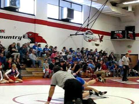 Sami's first match at North Tama High School.avi