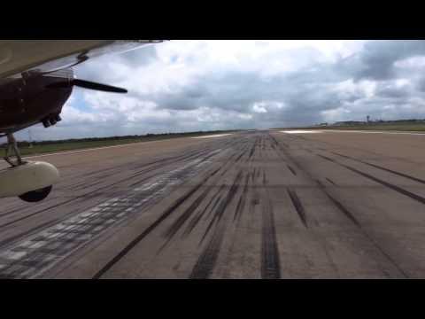 Landing Gaborone
