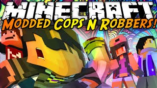 Minecraft Modded Cops N Robbers : DRUGS MOD!