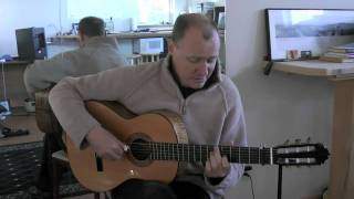 Jim Malcom Visits Stansell Guitars In Pistol River