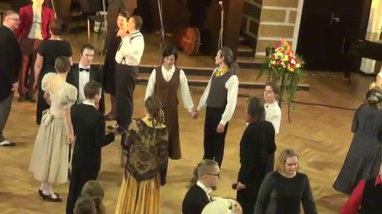 """00704 Folkloras mūzikas un deju kopas DANDARI 35 g. jubilejas """"kadriļu balle"""". Jautrais stūris"""