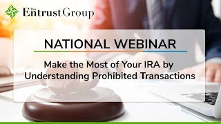 Make the Most of Your IRA by Understanding Prohibited Transactions - Video Image