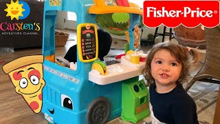 Food Truck Toy Kitchen | Pizza, Tacos, and Burger FUN