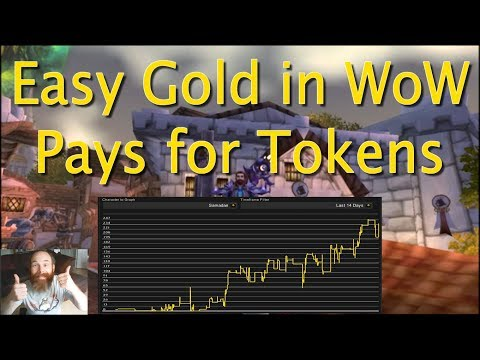 How to make easy Gold in WoW for Tokens - LEGION 7.3 Enchant