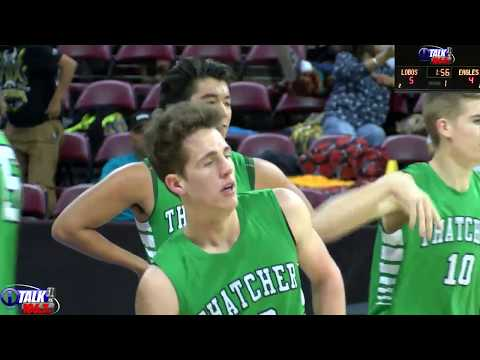 Thatcher vs Many Farms Boys 2A State Tournament Round 1 Full Game