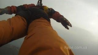 Extreme спорт Роупджампинг: Прыжки Rock&Rope г. Кастропольская