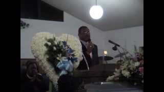 Bishop Walter Hawkins @ My Mom's Homegoing.mov