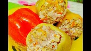 Рецепт Перец фаршированный мясом и рисом