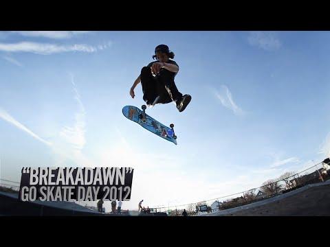 Breakadawn Go Skateboarding Day 2012 Montage