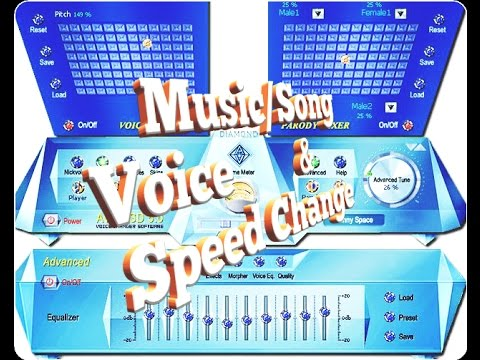 How to Music Mp3 Song pitch voice Speed Tempo Loop change