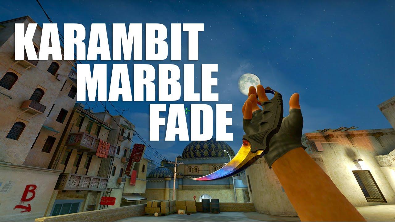 Karambit Marble Fade - Gameplay |FULL HD, 60FPS|