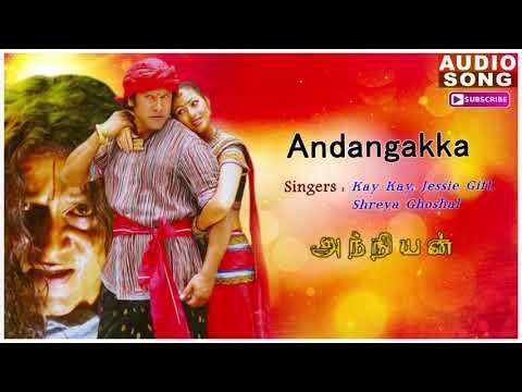 Andangkaka Kondakari Song | Anniyan songs | Anniyan | Shankar Movie | Vikram songs | Andangkaka song