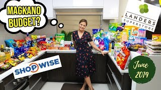 MONTHLY GROCERY SHOPPING AND HAUL - JUNE 2019 (VLOG #161)