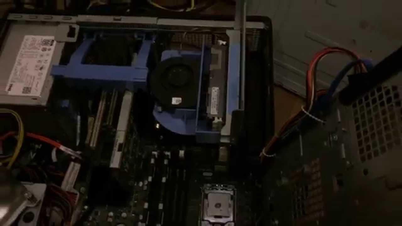 dell precision x5660 dual hex t5500 riser installation C