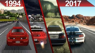 Evolution of Cutscenes in Need For Speed games (1994 - 2017)